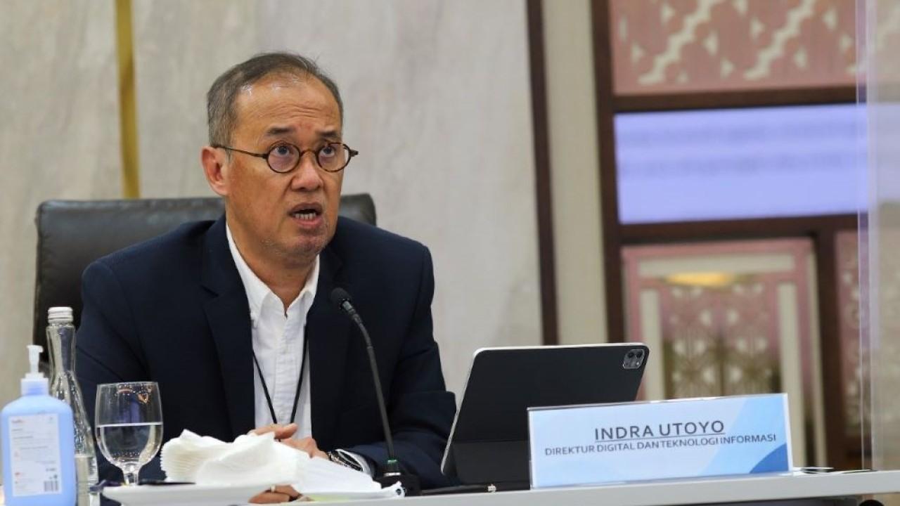 Direktur Digital dan Teknologi Informasi BRI, Indra Utoyo. (Istimewa)