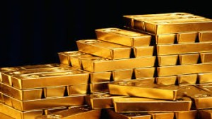 Ilustrasi emas batangan Antam-1634703491