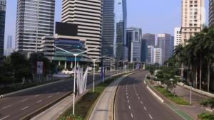 Ilustrasi suasana di Jakarta saat pemberlakuan PPKM Darurat beberapa waktu lalu-1634717030